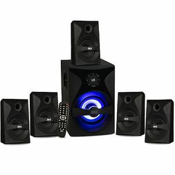 Acoustic Audio Bluetooth 5.1 Speaker System with Sub Light &