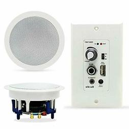 Home Audio Package Wall Mount Control Bluetooth Amplifier Re