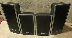 SONY HOME THEATER SMALL SURROUND SOUND SPEAKERS FRONT SS-TS8