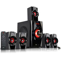 NEW BEFREE 5.1 CHANNEL SURROUND SOUND BLUETOOTH HOME THEATER