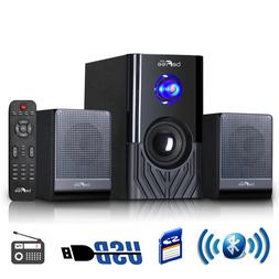 NEW BLUETOOTH 2.1 HOME THEATER TV SURROUND SOUND SPEAKER SYS
